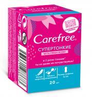 Прокладки щоденні Carefree СуперТонкі Fresh scent mini 20 шт.
