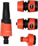 Зрошувач YATO YT-99831 прямий зі сполученнями до шлангів 1/2 3/4 – 4 шт