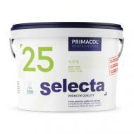 Фарба інтер'єрна латексна Primacol Professional SELECTA 25 глянець білий 10л