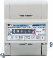 Лічильник електроенергії однофазний  Энергомера 220 В 60 А 1Т M6 електронний СЕ 101 R5 145
