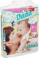 Підгузки для дітей Dada Premium jumbo midi 4-9 кг 64 шт.