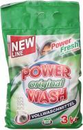 Пральний порошок для машинного прання Power Wash Original 3 кг