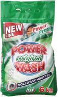 Пральний порошок для машинного прання Power Wash Original 6 кг