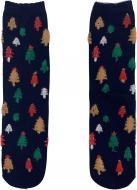 Шкарпетки жіночі La Nuit Home новорічні ялинки р. універсальний синій 1 пар