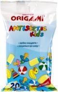 Вологі серветки Origami Antiseptic kids 20 шт.