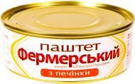 Паштет Онісс Фермерський з печінки 240 г