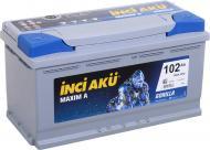 Акумулятор автомобільний INCI Maxim A (Gorilla) 102А 12 B L5 102 090 013 «+» праворуч