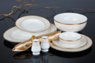 Сервіз столовий Nocturne Gold 28 предметів на 6 персон Narumi