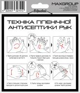 Наліпка MAXGROUP Антисептик NM-037