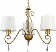 Люстра підвісна Arte Lamp CAROLINA 3xE27 коричневий