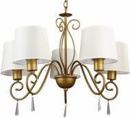Люстра підвісна Arte Lamp CAROLINA 5xE27 коричневий