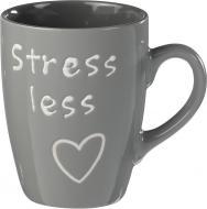 Чашка Feeling 330 мл сіра