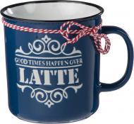 Чашка Latte 690 мл синяя Bella Vita