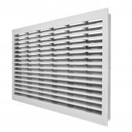Гратка для вентиляції MiniMax без п/к 500 х 200 мм пластик білий