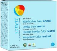 Пральний порошок Sonett Color нейтральна серія 1,2 кг