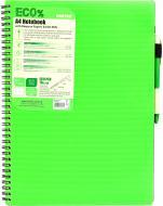 Блокнот Eco Pen A4 80 аркушів зелений Mintra