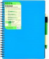 Блокнот Eco Pen A5 80 листів синій Mintra