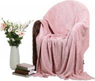 Плед Flannel Plush 160x200 см рожевий La Nuit