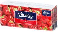 Носові хустинки кишеньки Kleenex з ароматом полуниці 10 шт.