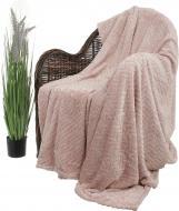 Плед Flannel Plush 200x220 см рожевий La Nuit