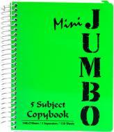 Блокнот Micro Jumbo A6 150 листів зелений з малюнком Mintra