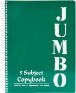 Блокнот Micro Jumbo A6 150 листів темно-зелений з малюнком Mintra