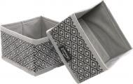 Набір органайзерів Vivendi Silver 2 шт. 140х140х140 мм сірий