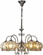 Люстра підвісна Arte Lamp Venice I 5x60 Вт E14 антична бронза A2106LM-5AB