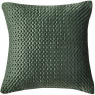 Подушка декоративна 3D Velvet 45x45 см зелений La Nuit