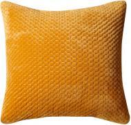 Подушка декоративна 3D Velvet 45x45 см вохра La Nuit
