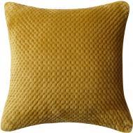 Подушка декоративна 3D Velvet 45x45 см оливковий La Nuit