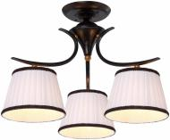 Люстра стельова Arte Lamp IRENE 3xE14 коричневий A5133PL-3BR
