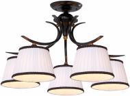 Люстра стельова Arte Lamp IRENE 5xE14 коричневий A5133PL-5BR