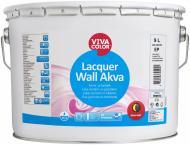 Лак для стін та стель Lacquer Wall Akva Vivacolor напівмат 9 л