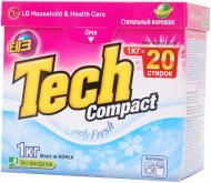 Пральний порошок для машинного прання Tech Compact Lovely fresh 1 кг