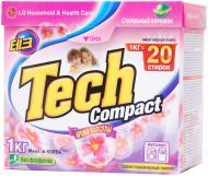 Пральний порошок для машинного прання Tech Compact Арома-капсули 1 кг