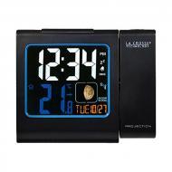 Проекционные часы La Crosse WT551 с датчиком температуры Black (921500)