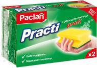 Губка для миття посуду Paclan 2 шт.