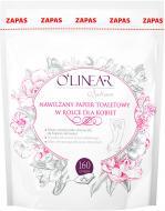 Туалетний папір вологий O'Linear для жінок змінний блок 160 лист./рулон 1 шт.