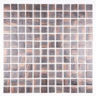 Плитка AquaMo Мозаїка Metallic Bronze 31,7x31,7