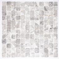 Плитка AquaMo Мозаика Travertin Grey 31,7x31,7