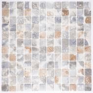Плитка AquaMo Мозаика Travertin Mix 31,7x31,7