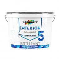 Краска Kompozit INTERIOR 5 белый 0,9л 1,4кг