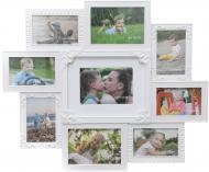 Коллаж SM00636 9 фото 13х18/10x15 см белый