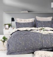 Комплект постельного белья Spring 2 серый с рисунком La Nuit