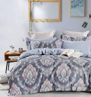 Комплект постельного белья French 2 серый с рисунком La Nuit