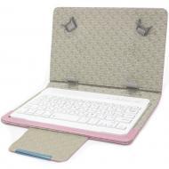 Защитный чехол Lesko 7 дюймов с беспроводной клавиатурой с блютуз для удобства чтения набора текста