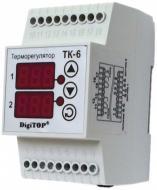 Терморегулятор ТК-6 двухканальный