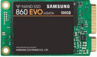 SSD-накопичувач Samsung 850 Evo 500GB Mini-SATA SATA III TLC (MZ-M6E500BW)