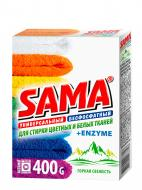 Пральний порошок для машинного прання SAMA Color Гірська свіжість 0,4 кг